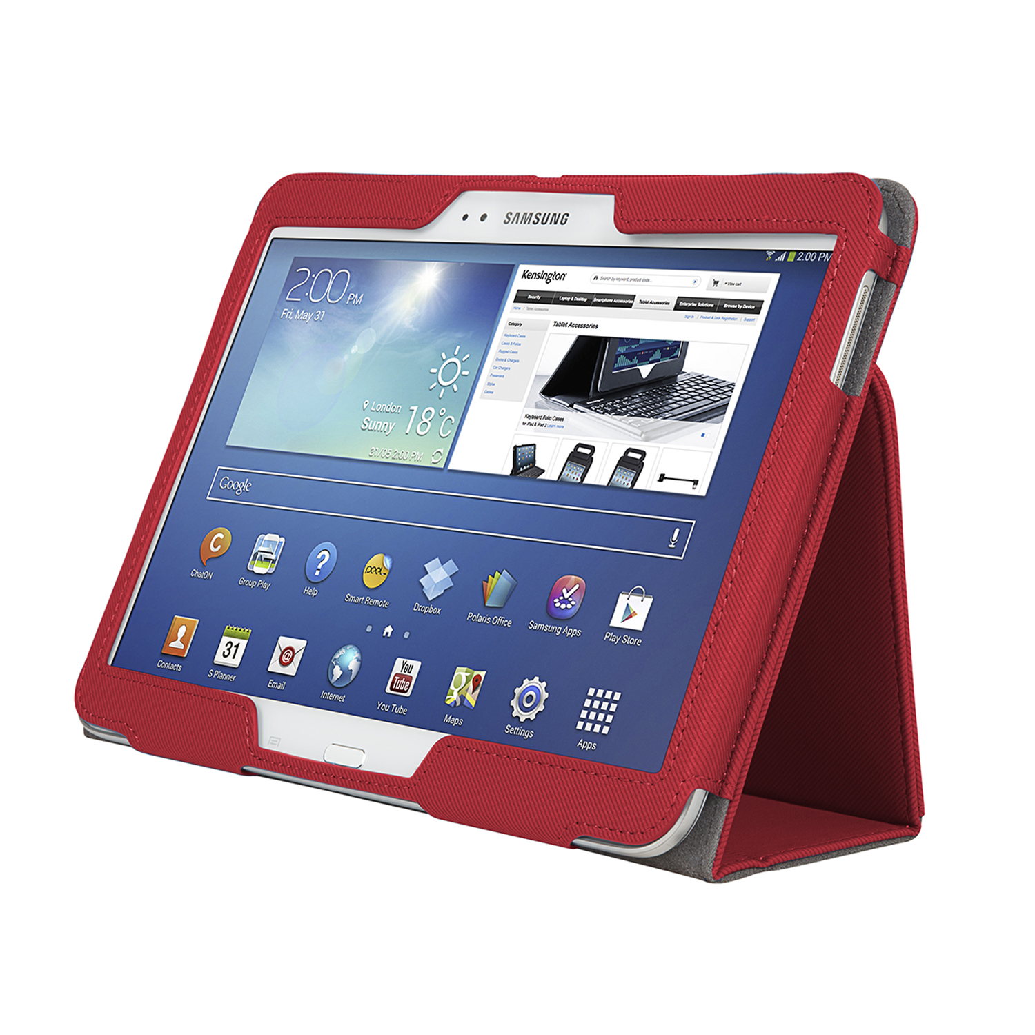 Funda comercio soft folio para galaxy tab 3 10 1 rojo acco brands chile - Funda galaxy tab 3 10 1 ...